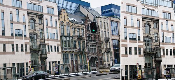 Architecture gone wrong in Molenbeek