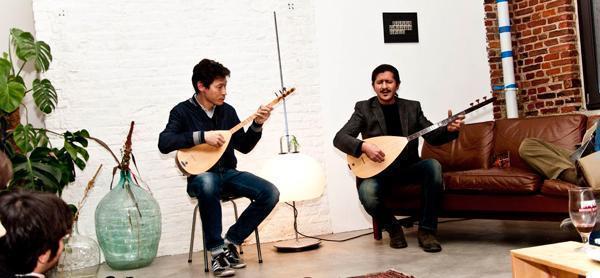 Cumali Bulduk and Paul Takahashi supply the musical entertainment