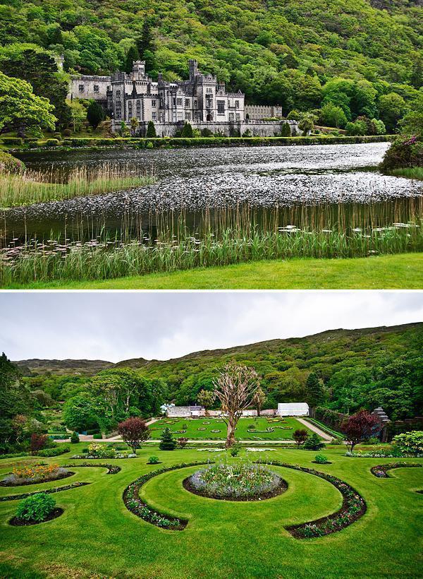 Kylemore Abbey's Victorian Walled Garden