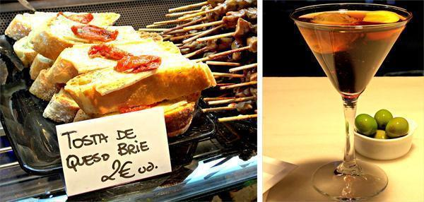 Grab a bite and a drink in Madrid's market