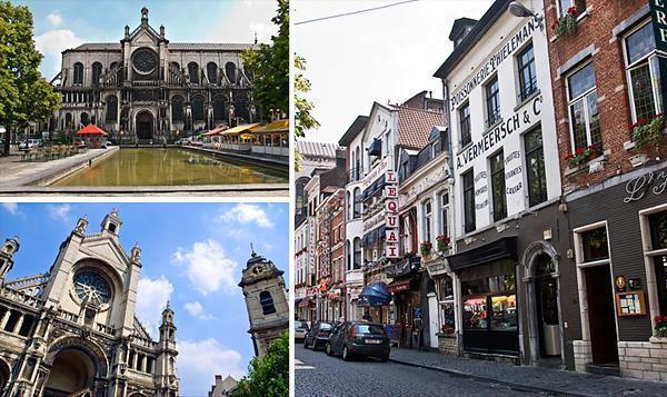 Place Sainte-Catherine Brussels, Belgium