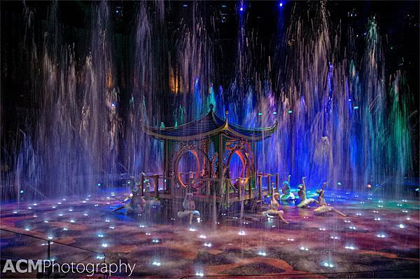 The House of Dancing Water show at the City of Dreams casino, Macau