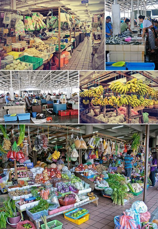 Markets in Kota Kinabalu