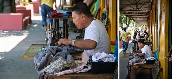 Old school sewing machines in KK