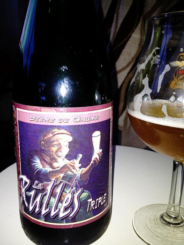 La Rulles Tripel Belgian Beer