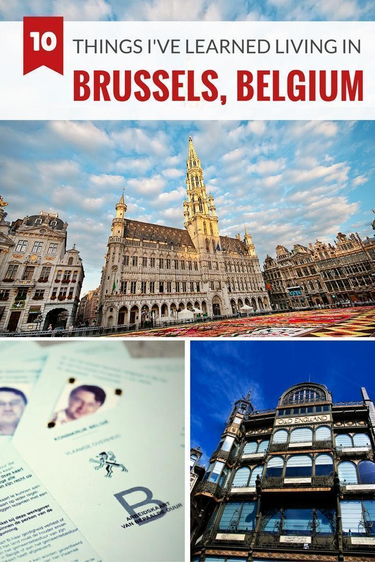 10 Things I've learned as an expat living in Brussels, Belgium