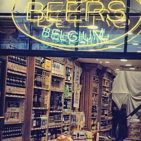 Where do you buy delicious Belgian Beer?