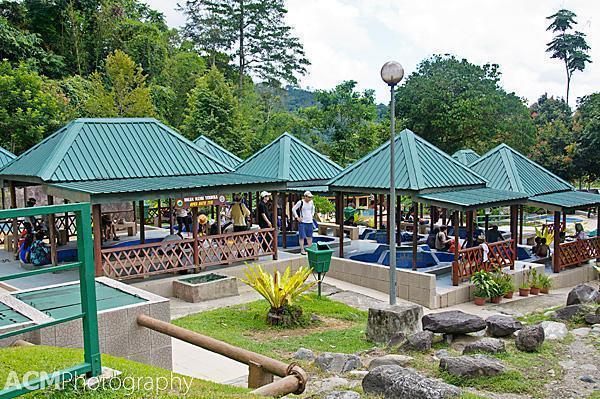 Poring Hot Springs, Sabah, Malaysia