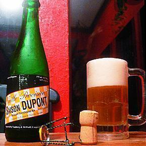 Belgian Saison Beer from Dupont