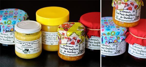 Confituerie Saint Amour's artisanal jams