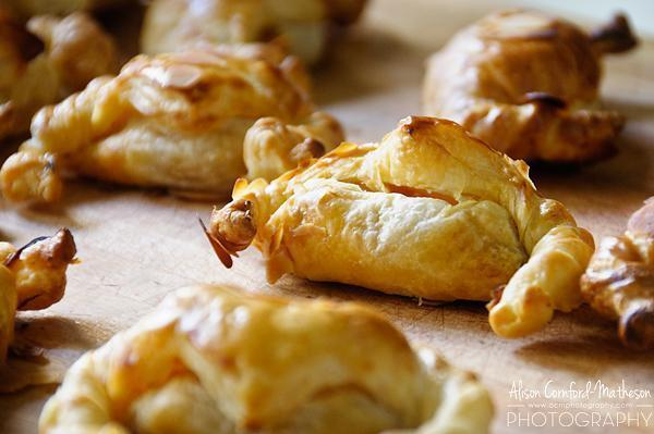 Pumpkin filled pastries