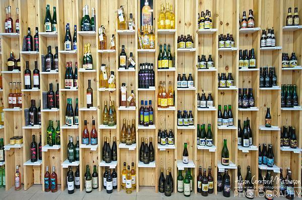 Plenty of Belgian Beer, Wine and Spirits to sample