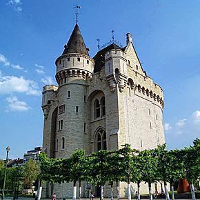 Porte de Hal Museum, Brussels, Belgium