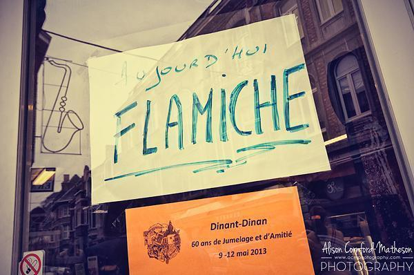 Today is the day for Flamiche!