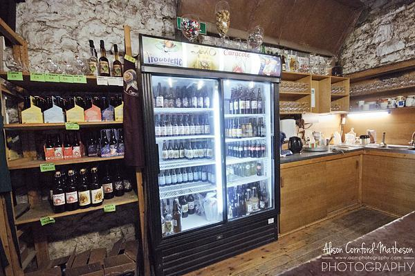 The tasting room in the Caracole Brasserie