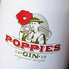 Poppies Gin by Rubbens Distillery