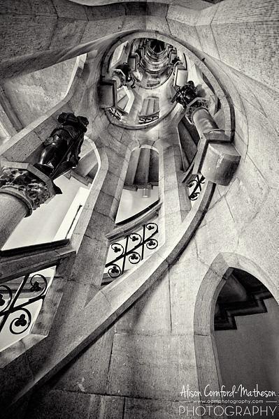 Henri Beyaert's beautiful staircase in the Porte de Hal