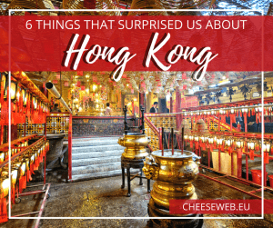 Hong Kong is a city of contrasts that surprised us in many ways