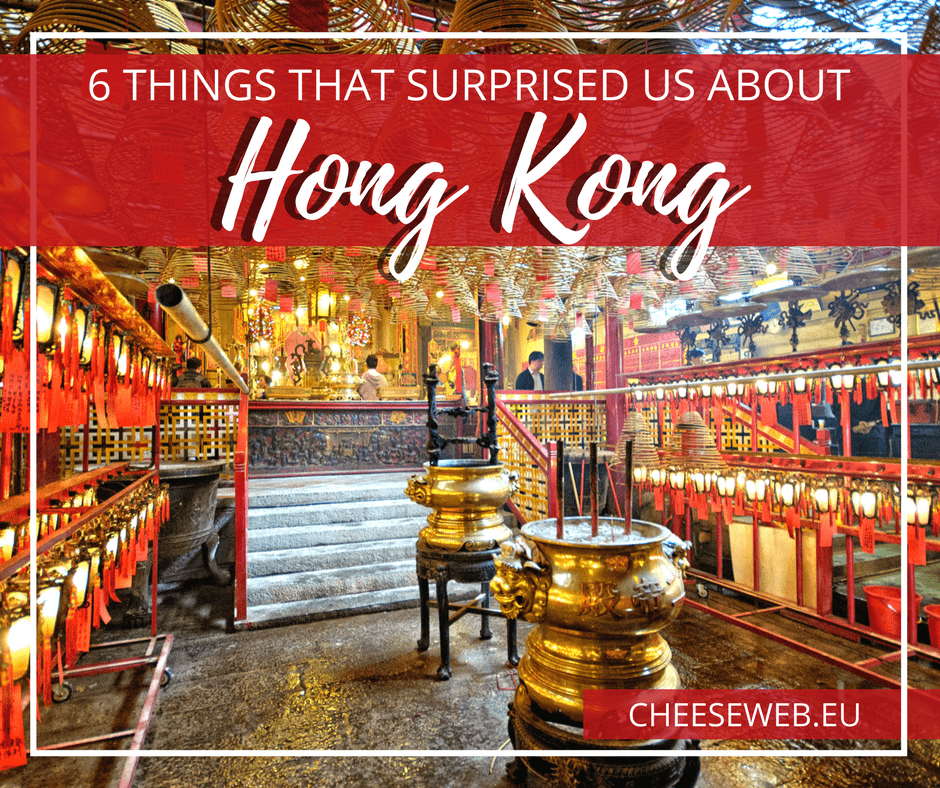 Six Things that Surprised Us About Hong Kong
