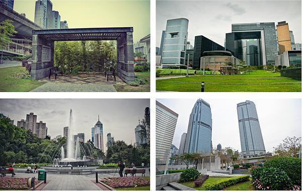 Public Green Spaces in Hong Kong