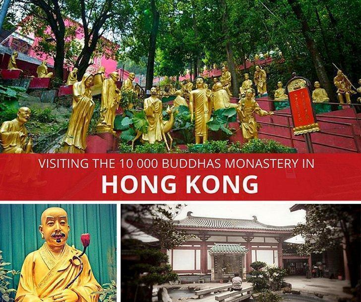 Visiting the Ten Thousand Buddhas Monastery in Hong Kong