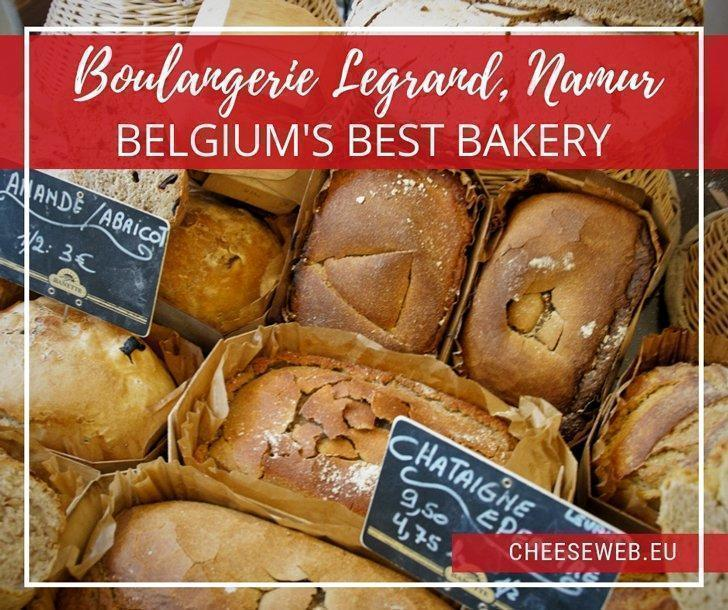 Tucked away in central Namur is Wallonia Belgium's finest bakery. Using only organic ingredients, Boulangerie Legrand makes bread just as they have for the past six generations, with love and passion.