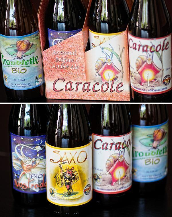 Caracole's Belgian Beer Line-up