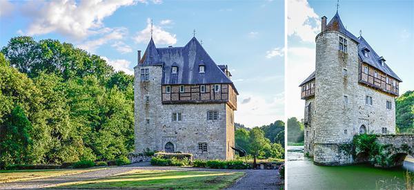 The 13th century Crupet Chateau