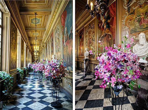 Floralientime is a wonderful opportunity to peek inside Brussels beautiful city hall