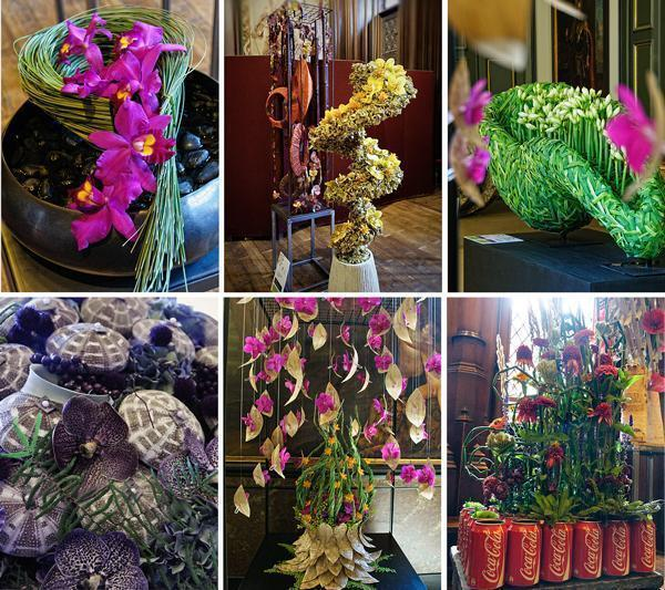 Creative floral designs from top designers