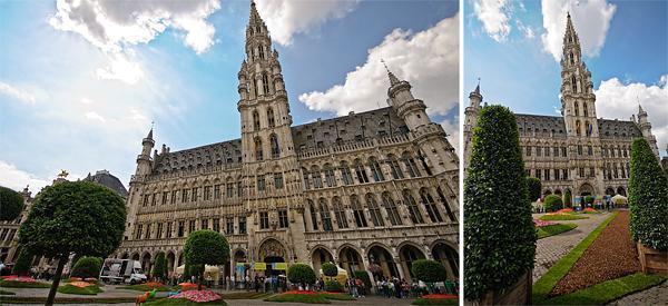 Brussels City Hall building is decorated from head to toe for Floralientime