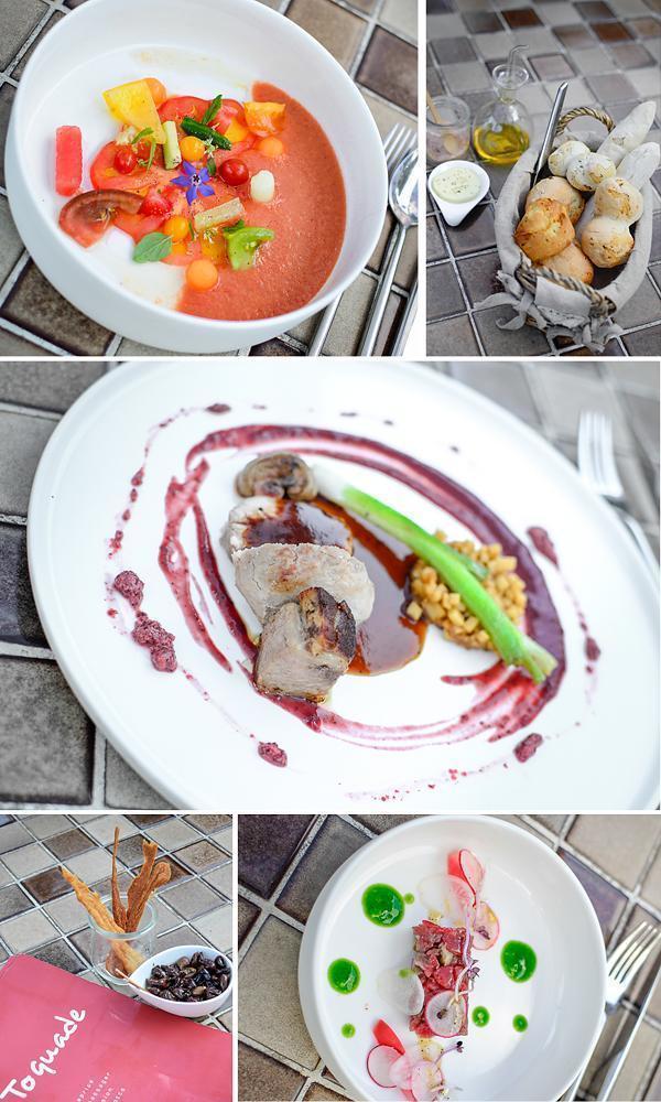 Dining at La Toquade