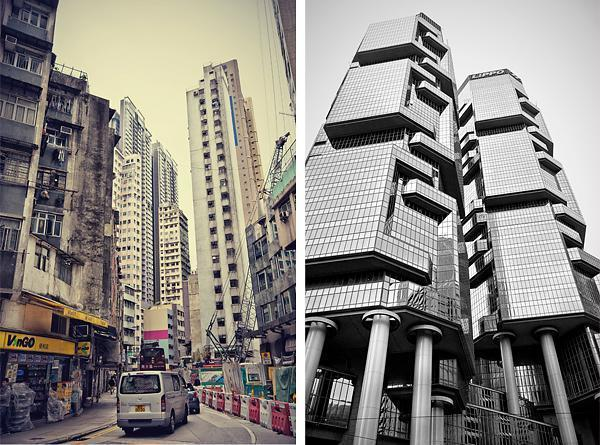 Hong Kong is shiny and dingy at the same time