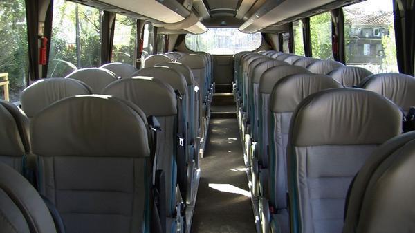 Comfy seats with plenty of leg room