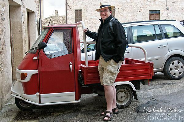 Andrew had another mode of transportation in mind