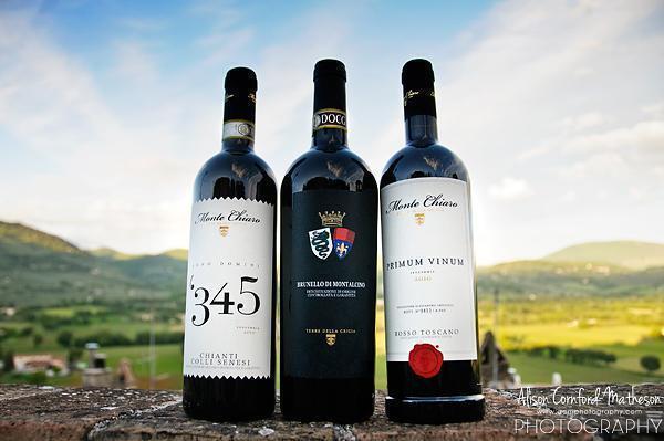 Our three favourite Monte Chiaro Wines