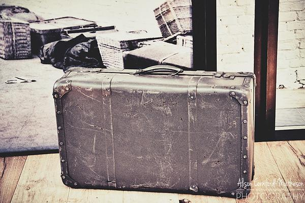 Many European Jews boarded RSL ships with only a suitcase like this one