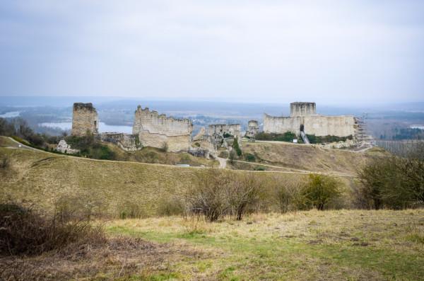 Chateau Gaillard, fortress of Richard the Lionheart
