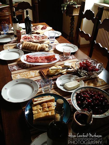 Lunch in Spello