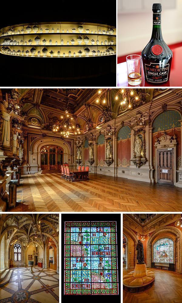 Inside the Benedictine Palace