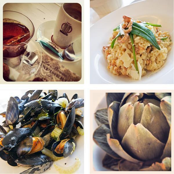The stunning food at Galerie Beau Site
