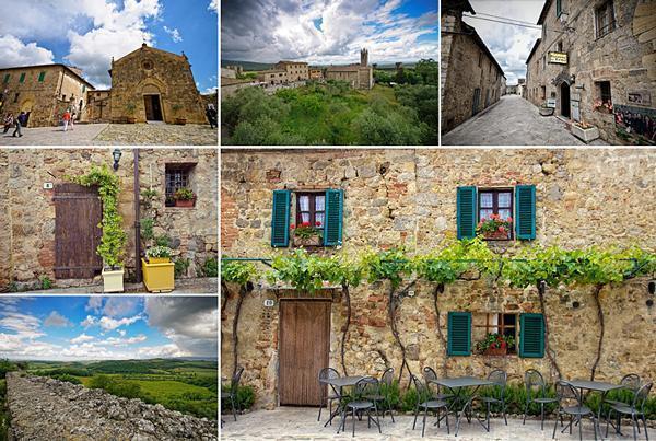 Picturesque Monteriggioni