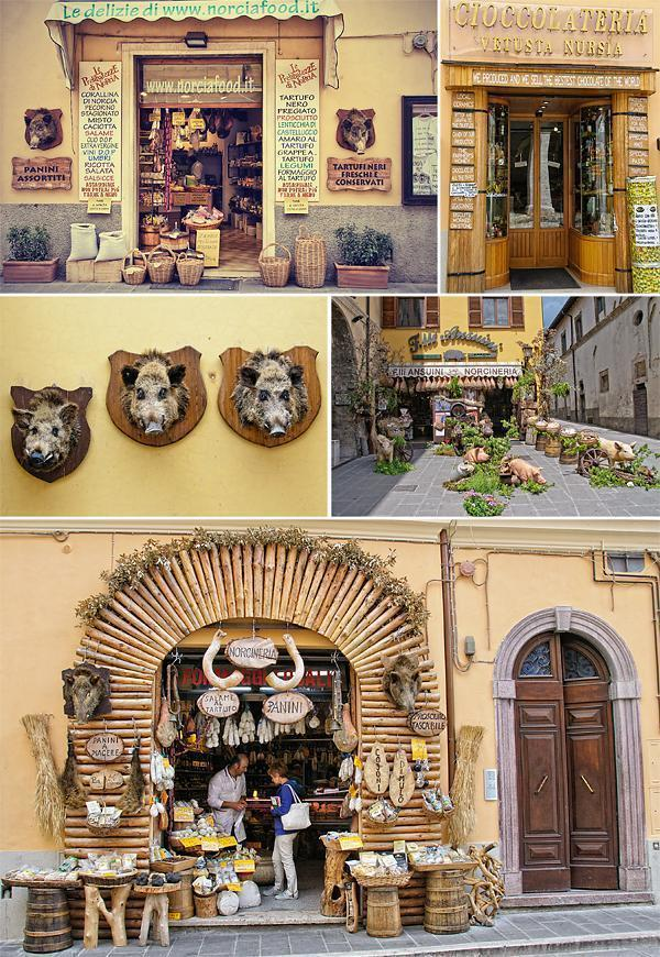 It's easy to see Norcia is famous for Wild Boar