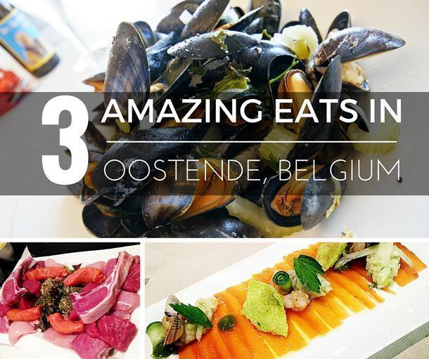Restaurants in Oostende Belgium