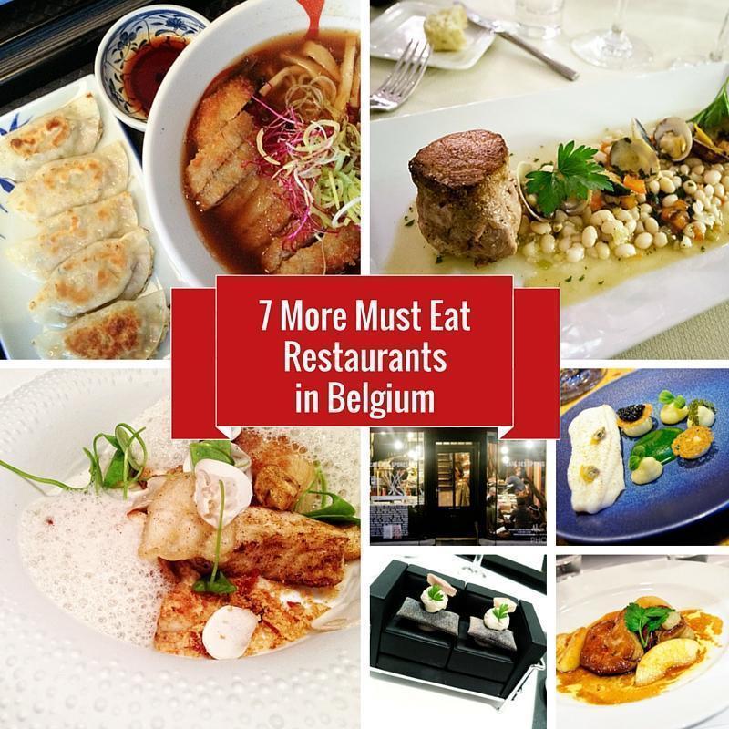 7 More Must Eat Restaurants in Brussels, Belgium