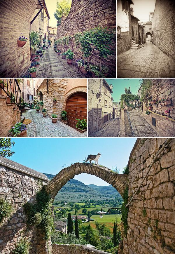Welcome to Spello in Umbria, Italy