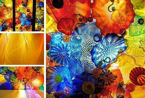 Chihuly's Persian Ceiling
