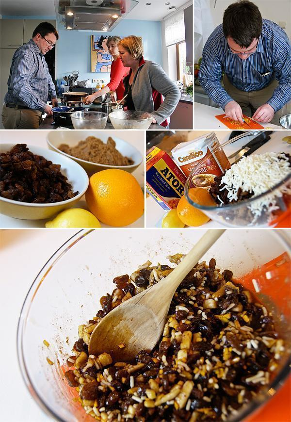 Debbie's mincemeat making workshop