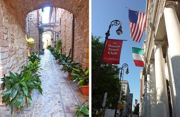 From the USA to Italy and back again