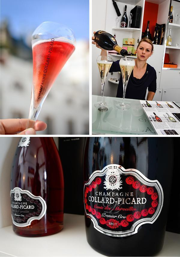Champagne Collard-Picard in Epernay